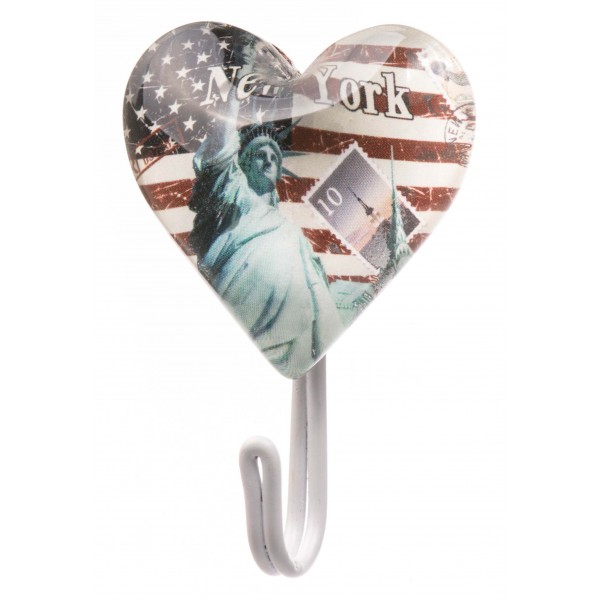 American Flag New York Love Hanger