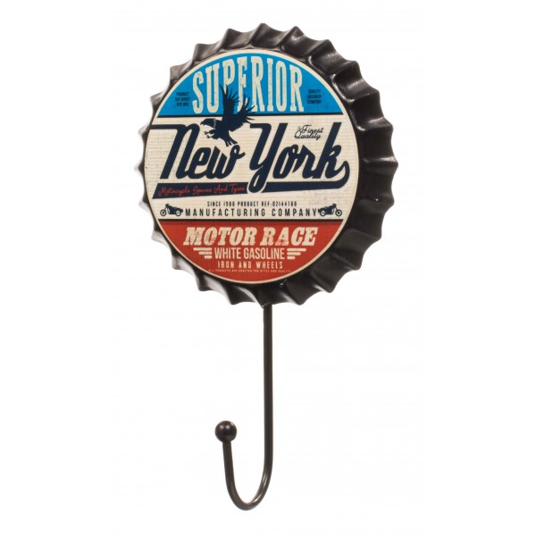 Yellow Love New York Beer Cap Hanger