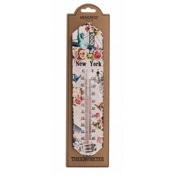 New York Statue of Liberty Bridge Thermometer